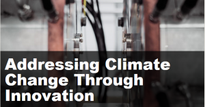 Addressing Climate Change through Innovation