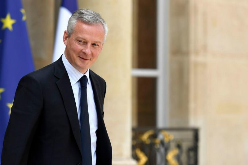Image result for French Finance Minister Bruno Le Maire, photos